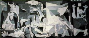 """Guernica,"" by Pablo Picasso, 1937"